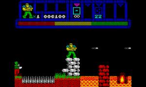 A new arcade platform shooter for the ZX Spectrum- HELL YEAH!