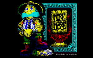 Mire Mare released for the ZX Spectrum 48k (sort of)