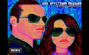 ZXS Spyctrum Mission released for ZX Spectrum 128k