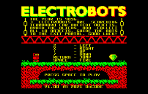 Electrobots released for Acorn Electron and BBC micro