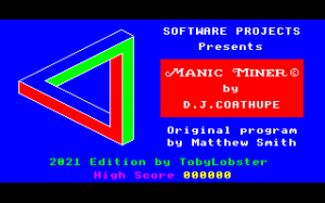 Manic Miner updated for BBC micro