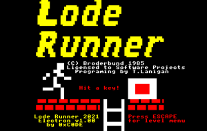 Lode Runner now available on the Acorn Electron